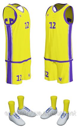 Баскетбольная форма FLOC, фото 2