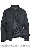 Куртка мужская демисезонная ARMANI S1806 черная, фото 1