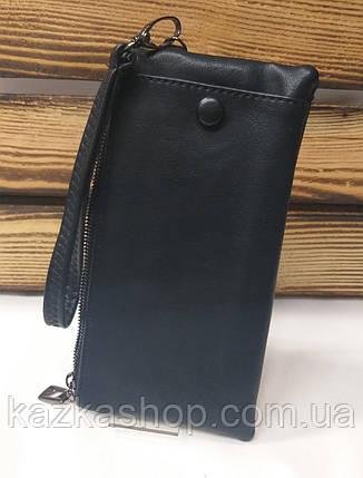 Женский кошелек из искусственной кожи, на молнии, два дополнительных отдела, для 4 карт, фото 2
