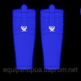 Гамаши однотонные синие
