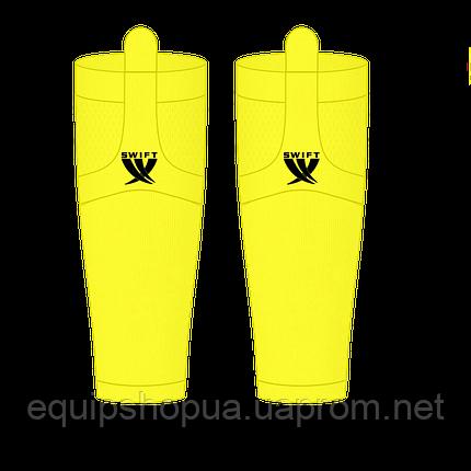 Гамаши однотонные желтые, фото 2