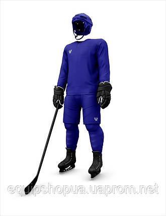 Хоккейная майка тренировочная синяя, фото 2