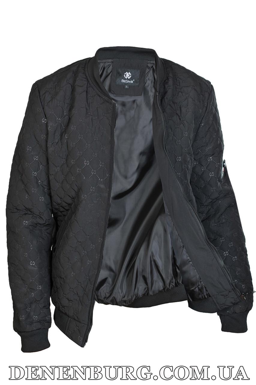 9c7566628 Куртка мужская демисезонная MICCAVRILI M18-123 черная - Интернет Магазин