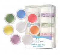 Набор цветных гелей для дизайна ногтей Star Nail  Pastel Gel Kit