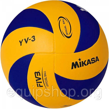Мяч волейбольный Mikasa YV-3 (оригинал), фото 2