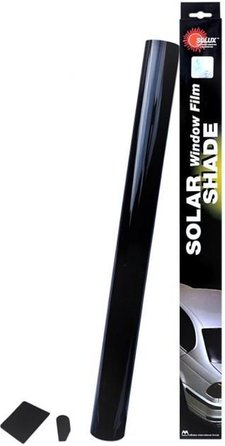Тонировочная пленка Solux 0,5  х 3 м Medium Black