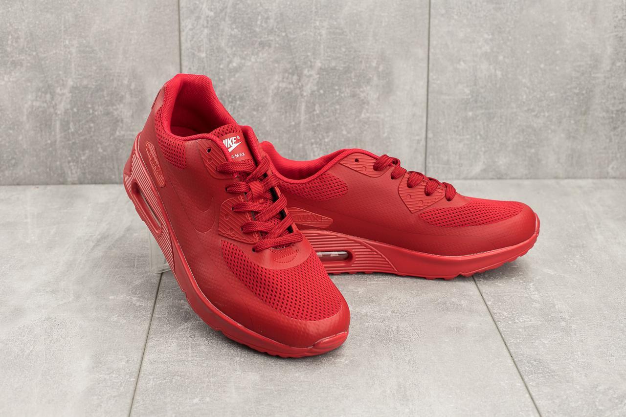 Мужские кроссовки искусственная кожа летние красные Classica G 5082 -3