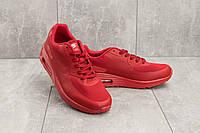 Мужские кроссовки искусственная кожа летние красные Classica G 5082 -3, фото 1