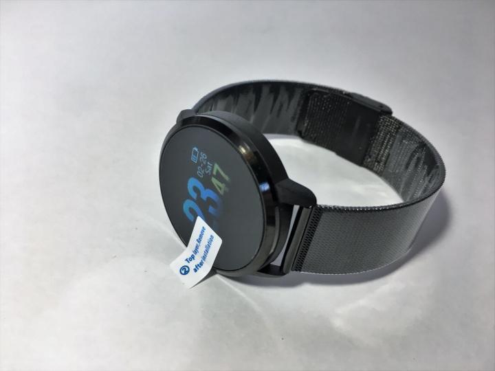 Умные часы Newwear Q8 Black с измерениям давления и Oled дисплеем