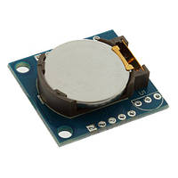 Часы+календарь+доп.память Arduino DS1307 I2C AT24C32 Real Time Clock Module Dallas Модуль часов реального врем