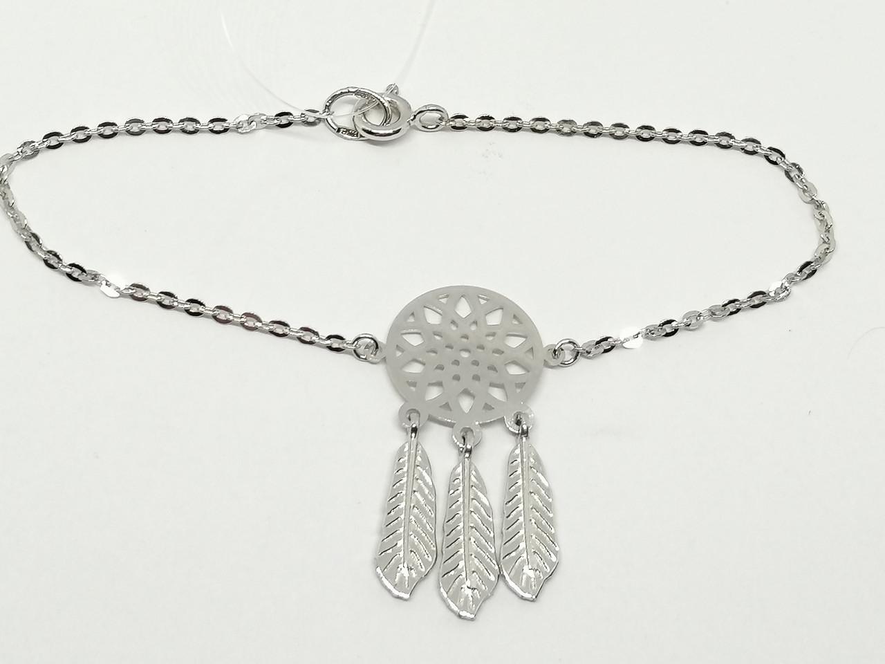 Срібний браслет. Артикул 90500944 17,5