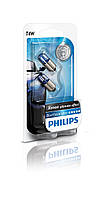 "Лампа 12v  4w  ""PHILIPS""  BlueVision BP T4W 12929BVB2 (блист 2шт.)"