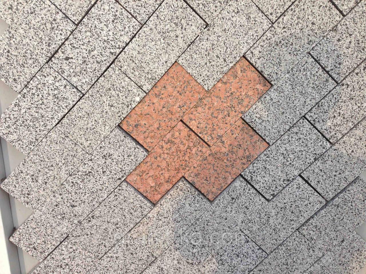 Плитка тротуарная гранитная