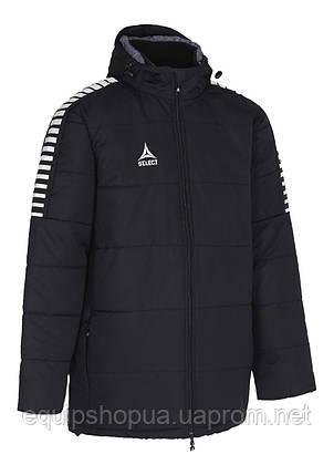 Куртка зимняя SELECT ARGENTINA COACH JACKET,(010) черный, фото 2