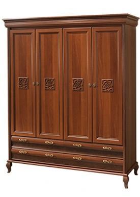 Шкаф Лаура Нова 4-х дверный (Скай ТМ)