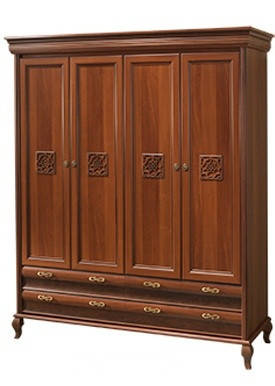 Шкаф Лаура Нова 4-х дверный (Скай ТМ), фото 2