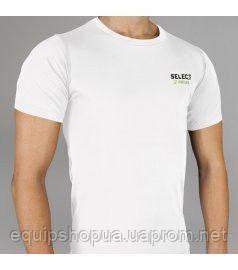 Термобельё SELECT Compression T-Shirt with short sleeves 6900 белая p.M, фото 2