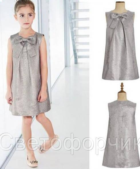 Стильное платье для девочки 5