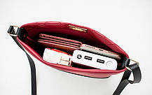 Милая двухцветная сумочка на ремешке, фото 2