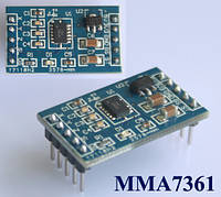 Акселерометр 3-х осевой MMA7361 MMA7260 Arduino