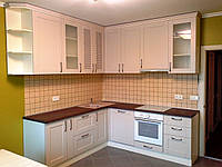"Кухня ""Прованс"" с деревянными фасадами Drewpol"