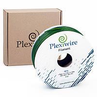 PETG пластик зелёного цвета Ø1.75мм для 3D принтера 300м (900г), 400м (1,185г)  от Plexiwire