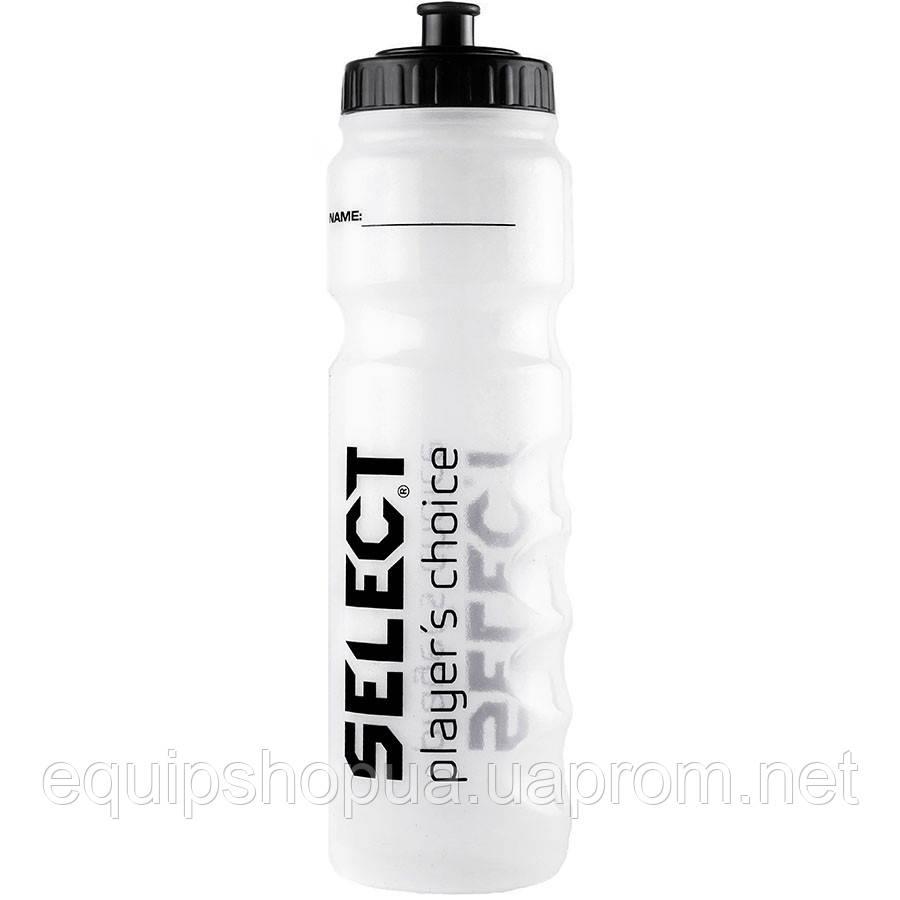 Бутылка для воды SELECT SPORTS WATER BOTTLE (001), белый,1L