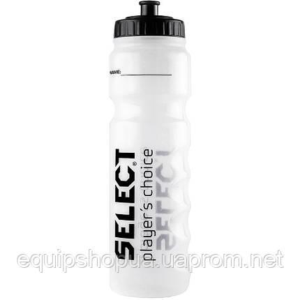 Бутылка для воды SELECT SPORTS WATER BOTTLE (001), белый,1L, фото 2