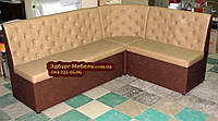 Кухонный диван Ренессанс-Бежевый 1500х2000мм, фото 1