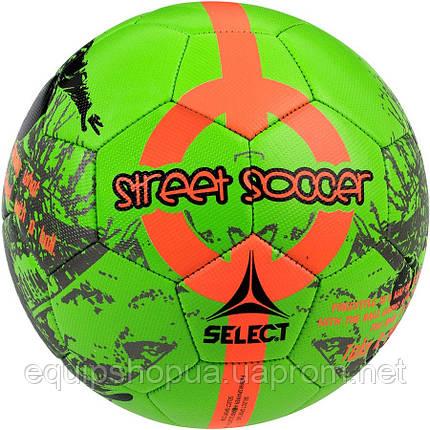Мяч футбольный SELECT Street Soccer New (203) зел/оранж, размер 4,5, фото 2