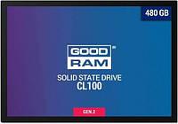 SATA-SSD-TLC 480GB GoodRAM CL100 G2 (SSDPR-CL100-480-G2), фото 1