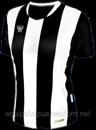Футболка футбольная Swift PESCADO CoolTech (бело/черная), фото 2