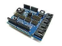 Мегашилд V4 цифр аналог модуль Arduino Sensor Shield module   Данный модуль позволяет подключать различные уст