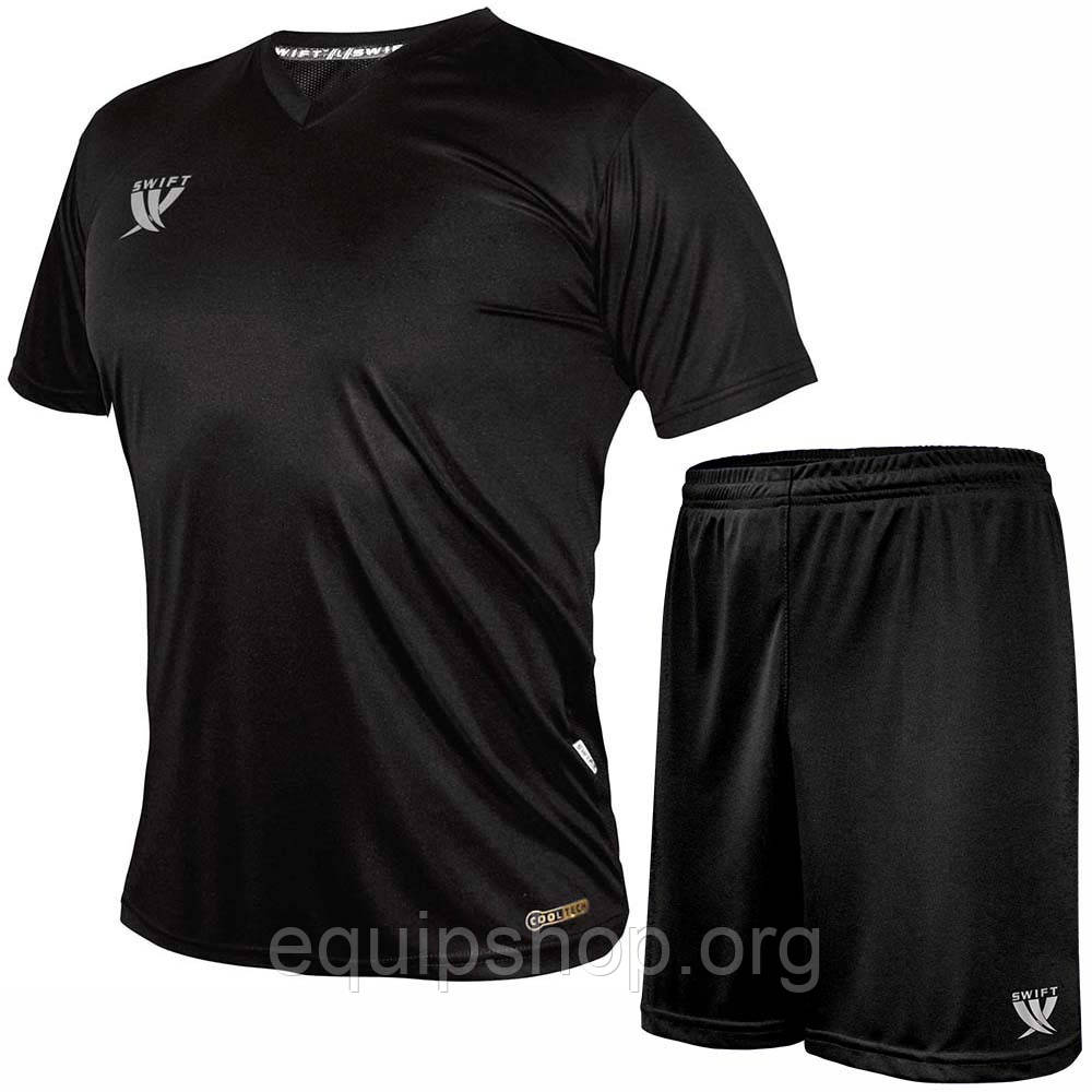 Форма футбольная Swift VITTORIA CoolTech (черная)