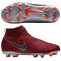 285c7c21 Оригинал Детские футбольные бутсы Nike Phantom Vision Academy DF FG Junior  Bordo AO3287-606