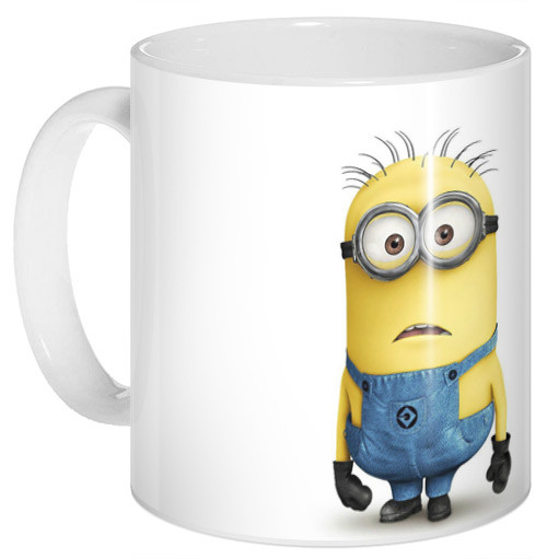 Кружка чашка Миньон