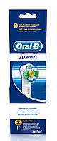 Насадка для электрической зубной щетки ORAL-B  3D White/Pro White EB18 2шт