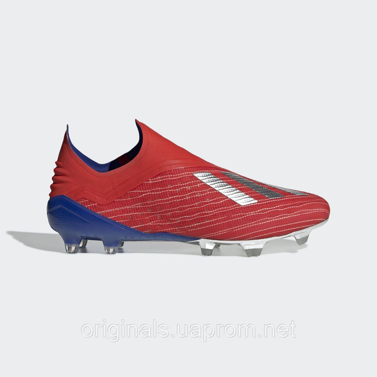 828418ec Футбольные бутсы Adidas X 18+ FG BB9337 - 2019 - интернет-магазин Originals  -