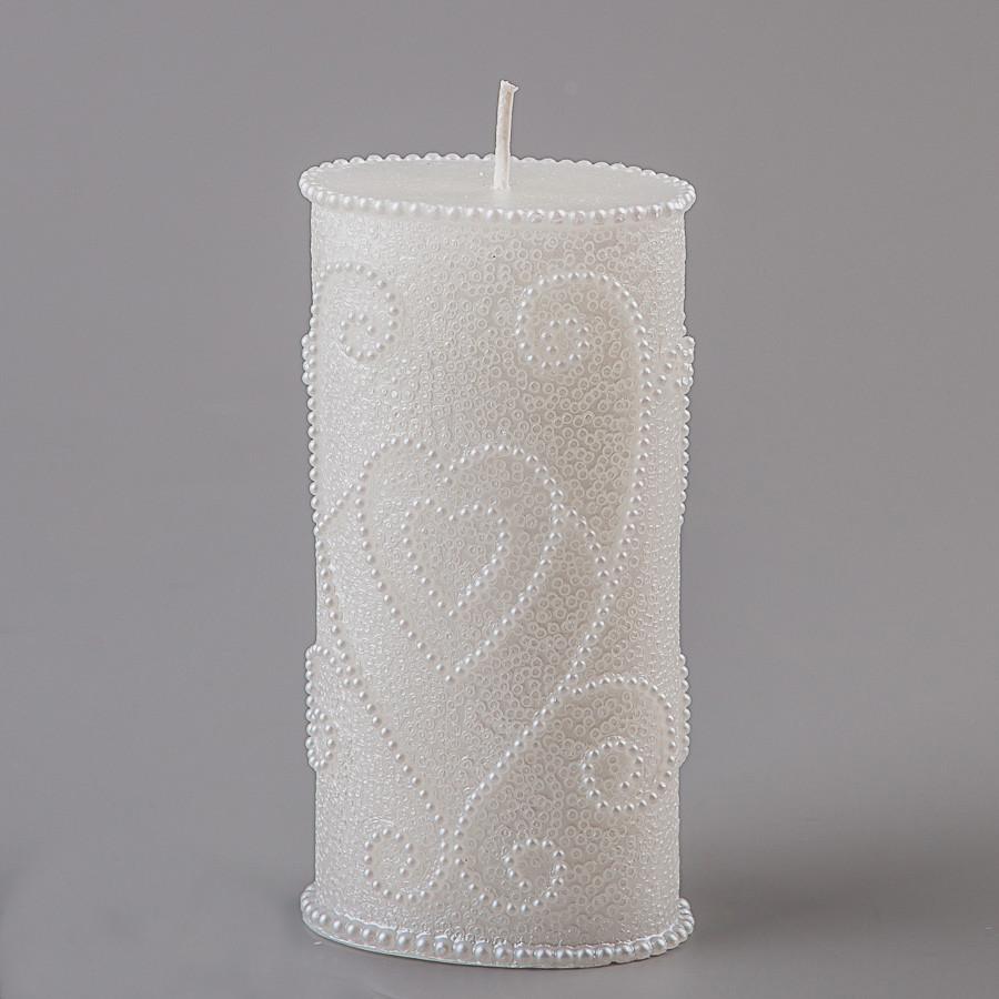 Свадебная свеча 15 см (066Q)