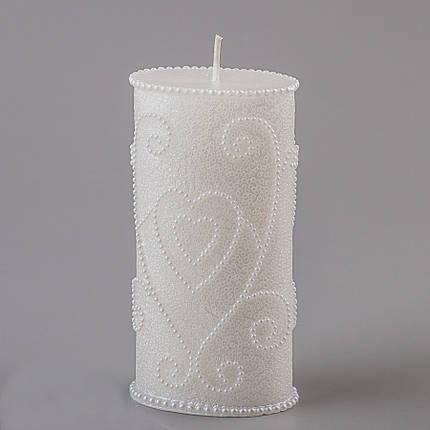 Свадебная свеча 15 см (066Q), фото 2