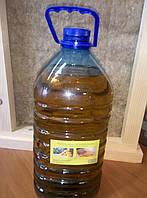 Льняное масло 6 л канистра с воском для пропитки дерева, фото 1