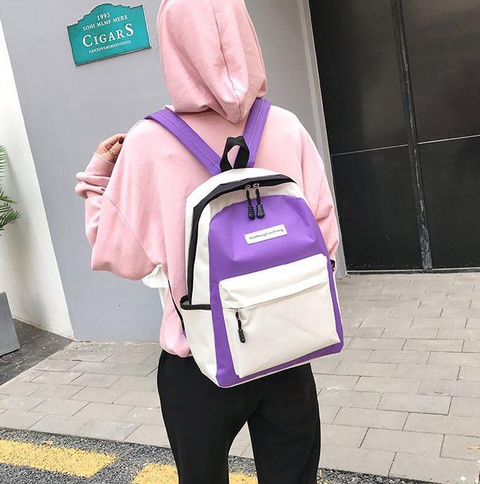 Стильный тканевый рюкзак для учебы и спорта