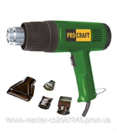 Фен промышленный ProCraft PH-2100. Фен ПроКрафт