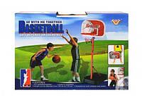 Детское баскетбольное кольцо на стойке 777-434