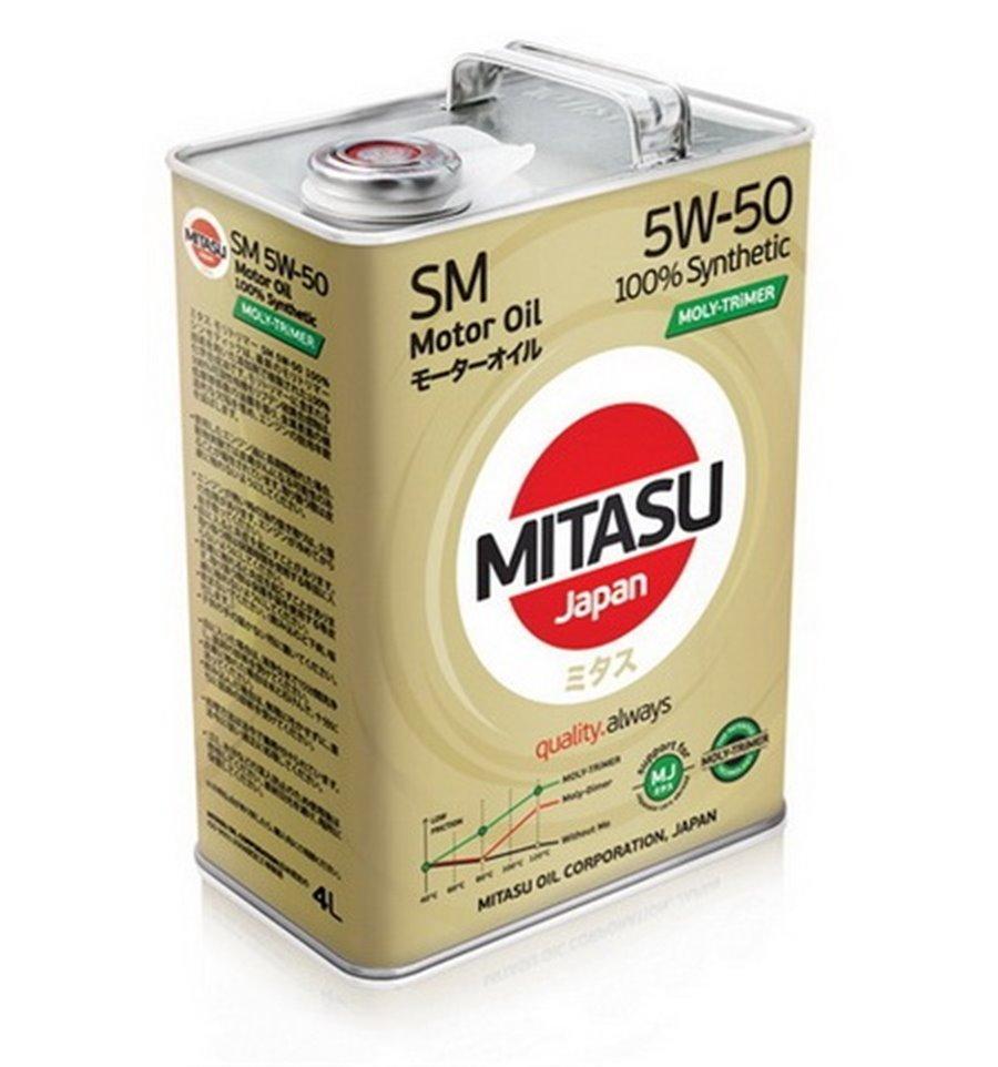 Моторне масло MITASU SM 5W-50 4L