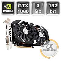 Видеокарта PCI-E NVIDIA MSI GTX1060 3GB БУ