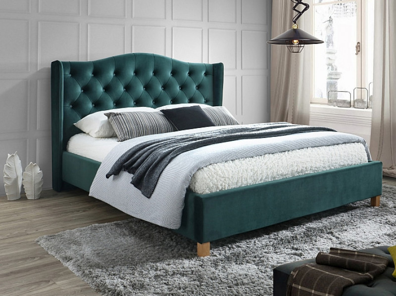 Кровать Aspen Velvet 160  (Signal)