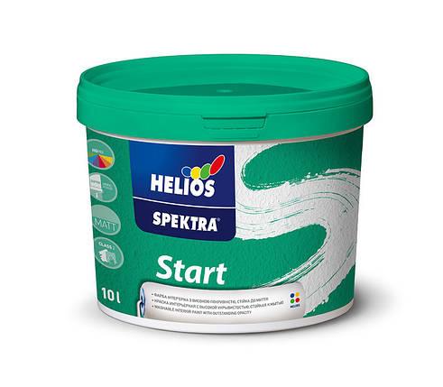Моющаяся краска для стен и потолков HELIOS SPEKTRA Start, 5л, фото 2