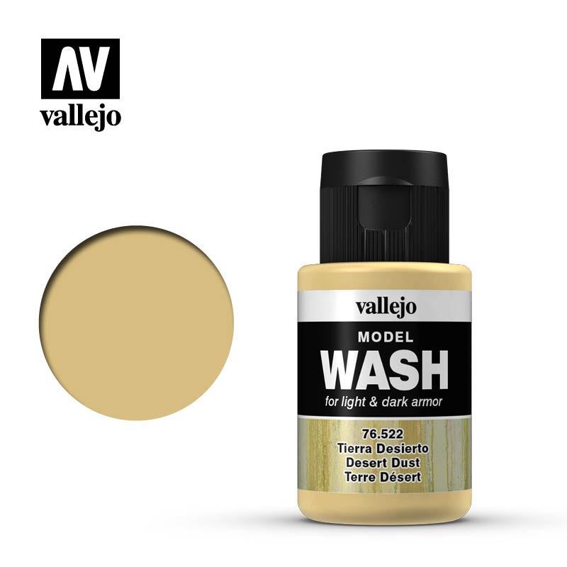 Смывка для моделизма Пустынная пыль, 35 мл. VALLEJO 76522