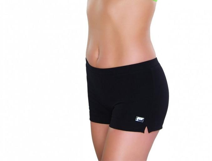 Спортивные женские шорты хлопок Shepa короткие для спортзала, фитнеса, бега